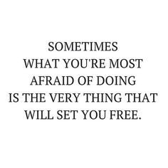 So true! Be brave. Be courageous. Take the leap. Get comfortable being uncomfortable. Note to myself as much as our community. Every day I'm taking crazy big risky leaps but in the next few weeks I'm taking a particularly uncomfortable and risky one... But I've always found the bigger and more uncomfortable the risk the bigger the payoff and strength for those around us (or the harder you fall flat on your face...). I'm praying for and meditating into the former  by lisamessenger