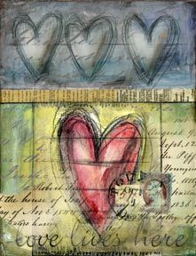 Love Lives Here by Lisa Kaus