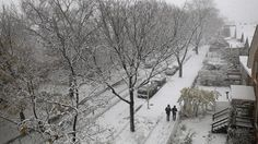 11/21/2015 - Season's first snow is Chicago's largest November snowfall in 120 years