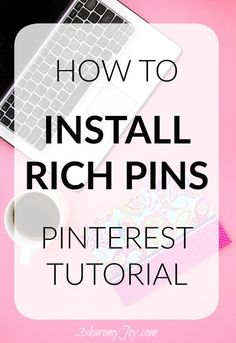 Try this tutorial on how to install rich pins and increase repins and grow traffic and pageviews for your blog. This pinterest tutorial was so easy.