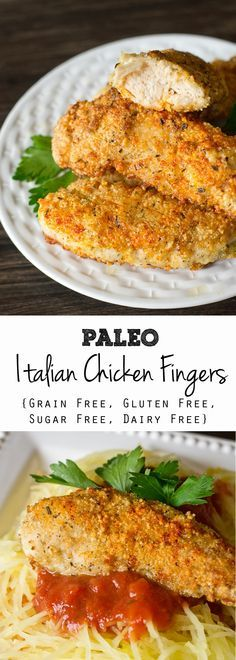 Paleo Italian Chicken Fingers  on MyRecipeMagic.com. These healthy, kid-friendly Paleo Italian Chicken Fingers are grain free, gluten free, dairy free and sugar free. Lightly breaded and pan fried in coconut oil to a golden brown. Read more at http://www.myrecipemagic.com/recipe/recipedetail/paleo-italian-chicken-fingers#VjmBzvHQsf7Lv40I.99 #ad #sponsored