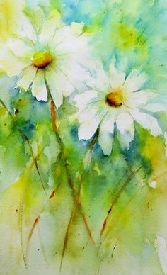 Spring! by Lin Freye   April 2014   Watercolor Arches 140#CP