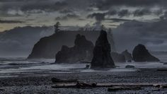 Spring at Ruby Beach, part of Olympic National Park. (Photo: John Fowler/Flickr