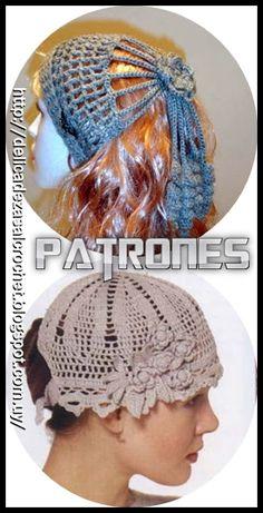 6114ed77a8fb1 Delicadezas en crochet Gabriela  Gorros accesorios en crochet