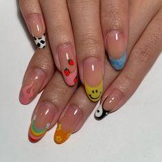 Classy Acrylic Nails, Cute Acrylic Nail Designs, Acrylic Nails Coffin Short, Summer Acrylic Nails, Best Acrylic Nails, Shellac Nail Designs, Summer Nails, Nail Art Designs, Stylish Nails