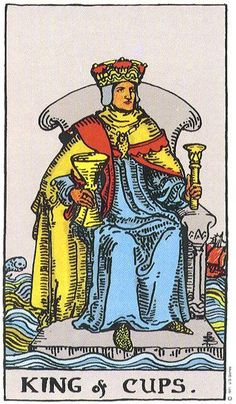 K is for King of Cups: An interview about his love life, dating tips and lessons learned.