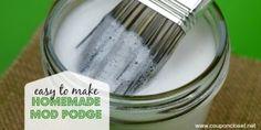 Homemade Mod Podge recipe