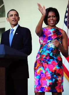 Obsessed With This Dress: Michelle Obama In Thakoon