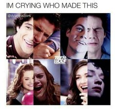 What makes this even worse is that all of the crying pictures are from 3B probably one of the saddest seasons❤️