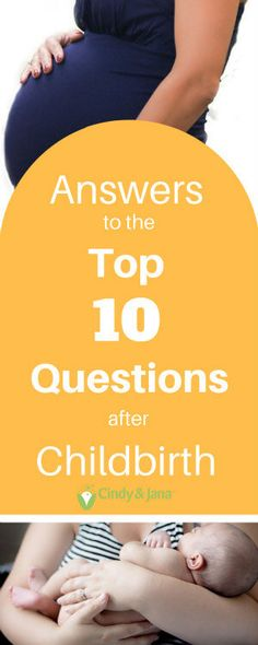 Anwers to the top questions women ask as they recover from a vaginal birth.   Cindy and Jana | Registered Nurses |International Board Certified Lactaton Consultants