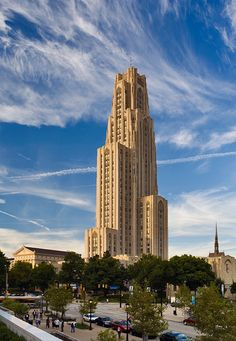 Cathedral of Learning - Pittsburgh, Pennsylvania