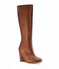 8a4390c79624 Kendrick UGG wedge riding boot in Chestnut UGG Australia
