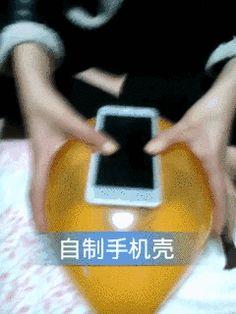 Capa para celular instantânea de baixo custo  Ah Negão!