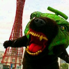怖いゆるキャラ メロン熊