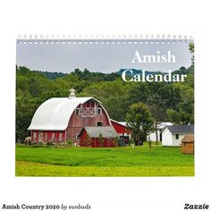 Shop Amish Country 2020 Calendar created by sunbuds. Photo Calendar, 2021 Calendar, Amish Country, Crochet Books, Calendar Design, White Elephant Gifts, Christmas Card Holders, Office Gifts, Holidays And Events