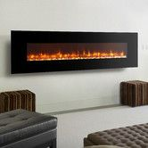 Found it at Wayfair - LED Wall Mount Electric Fireplace