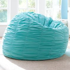 I love the Ruched Pool Beanbag on pbteen.com