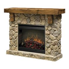 I pinned this Fieldstone Electric Fireplace from the Heart of the Home event at Joss and Main!