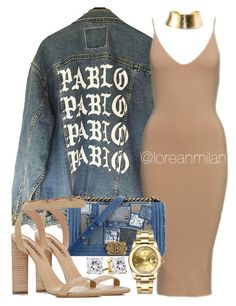"""""""pablo pablo."""" by loreanmilan ❤ liked on Polyvore featuring Chanel, YEEZY Season 2 and Rolex"""