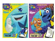 Disney Pixar Finding Dory Coloring and Activity Books Set of 2 * Click image for more details. Craft Activities For Kids, Book Activities, Activity Books, Disney Finding Dory, Disney Pixar, Arts And Crafts Furniture, Art Craft Store, Baby Disney, Craft Fairs