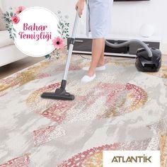 Atlantik'le yenilenen eviniz için bahar temizliği zamanı geldi mi? www.atlantikhali.com