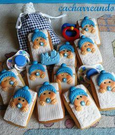 ¡¡¡¡¡Martín ha llegado!!!!! Y que mejor ocasión para hacer unas galletitas para llevar cuando valla a conocerle. Martín es el hijo de...
