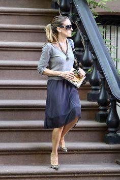 Sarah Jessica Parker Leaves Her Home