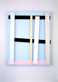 From Giacomo Guidi Arte Contemporanea, Imi Knoebel, Der Deutsche (6) (2010), Acrylic on aluminum, 150 × 125 × 8 1/2 cm