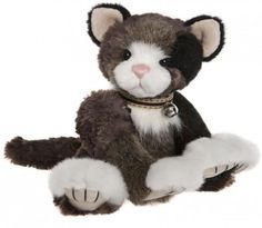 Jennyfur - Charlie Plush Collection 2018 Happily Ever After Collection Size: inches - Kitten Charlie Bears, Little Kittens, Christmas Birthday, Birthday Wishes, Hand Stitching, Teddy Bear, Kitty, Fur, Dolls