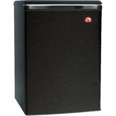 Igloo 3.2 cu. ft. Refrigerator and Freezer, Black