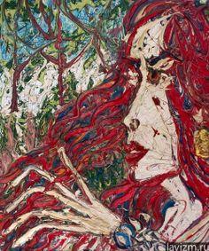 фото: Картина Автопортрет Self-portrait | фотограф: Лавизм | Автопортрет http://lavizm.ru/ #LAVIZM Ekaterina Lebedeva #followback Contemporary #Art