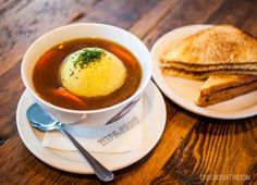 Sneak preview of some of the treats that will be served up at our new Wise Sons Deli! #matzohballsoup
