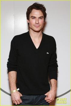 Celeb Diary: Ian Somerhalder @ 2013 Lacoste/GQ Super Bowl Party