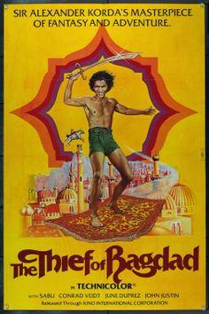 MovieArt Original Film Posters - THIEF OF BAGDAD, THE (1940) 2189, $95.00 (http://www.movieart.com/thief-of-bagdad-the-1940-2189/)