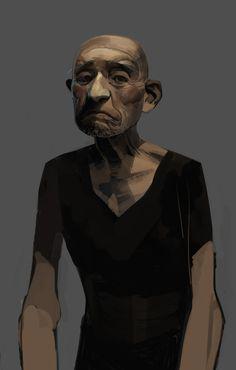 old-man by shanyar on deviantART