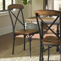 Homelegance 5099S Millwood Side Chair (Set of 2)