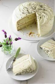 Lavender Cake with Lavender Cream Cheese Icing - Savor the Best - Dessert Recipes Oreo Dessert, Dessert Crepes, Coconut Dessert, Brownie Desserts, Mini Desserts, Just Desserts, Delicious Desserts, Yummy Food, Baking Recipes