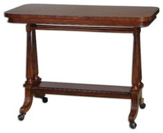 Cormac Cherry Sofa Table traditional bar tables