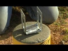This video shows you how to build the base of a deck foundation or concrete deck footing, using QUIKRETE® QUIK-TUBE Building Forms. Successfully construct a ... #buildadeck