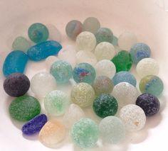 Beach marbles ... LOVE the marbles!