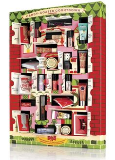 Benefit beauty advent calendar candy-coated countdown 2014 - 75 to 99 Euro Benefit Cosmetics, Benefit Makeup, Makeup Cosmetics, Makeup Advent Calendar, Best Beauty Advent Calendar, The Body Shop, Advent Calenders, Christmas Countdown, Christmas 2014
