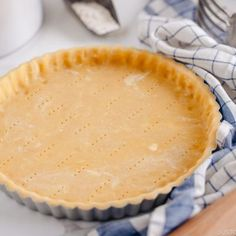 With buttery crumbly cookielike crispy texture this is my favorite Sweet Tart Crust Pastry Crust recipe It goes well with any sweet fillings of your choice Easy Japanese. Tart Recipes, Dessert Recipes, Desserts, Pastry Crust Recipe, Easy Japanese Recipes, Holiday Pies, Pastry Shells, Sweets Cake, Sweet Tarts