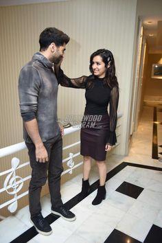 Shraddha Kapoor and Aditya Roy Kapur promote Ok Jaanu in Delhi Bollywood Couples, Bollywood Stars, Bollywood Celebrities, Bollywood Fashion, Bollywood Actress, Roy Kapoor, Sraddha Kapoor, Cute Couple Poses, Cute Couples