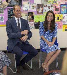 La duchesse de Cambridge, née Kate Middleton, et son époux le prince William ont…