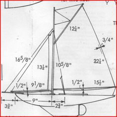 Sail Plan for 'Jenny' a 'Model Boats' free plan Make A Boat, Build Your Own Boat, Plywood Boat Plans, Wooden Boat Plans, Model Sailboats, Boat Building Plans, Bass Boat, Wood Boats, Small Boats