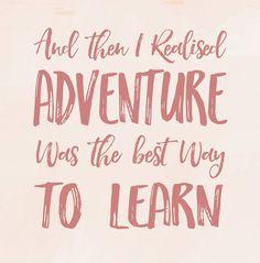 #Adventure #Life #LessonsLearnt #Motivation #Quotes #MergeFashionNZ