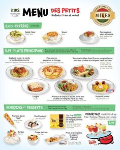 French Menu PrintableYour Students Will Learn How To Order Food