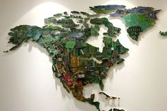 10 Amazing Pieces Of Art Made From Obsolete Computer Parts