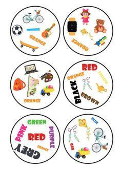 Dobble game toys&colours