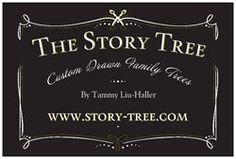 The Story Tree Custom Hand-Drawn Family Trees